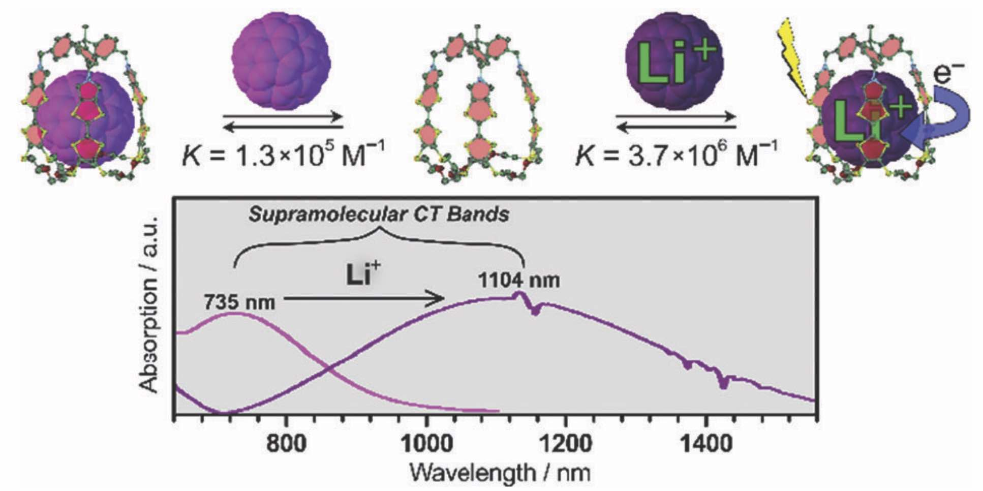Ionic manipulation of charge-transfer and photodynamics of [60]fullerene confined in pyrrolo-tetrathiafulvalene cage